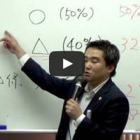 短答OVER280インプット講座2014ガイダンス『短答8割得点に必要なのは過剰な知識を捨てること。』